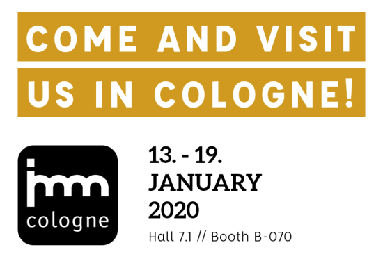 T&S imm cologne 2020 fair info PopUp
